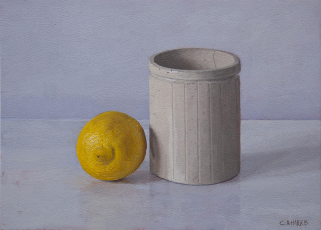 Pot with Lemon